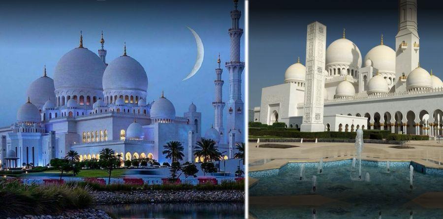 گشت و گذار در زیباترین مسجد امارات ، مسجد شیخ زاید ابوظبی