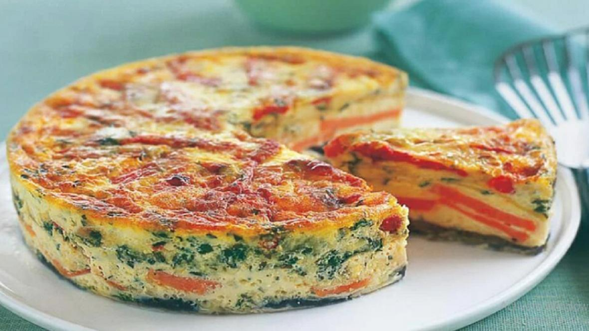 طرز تهیه کیک سبزیجات ساده و خوشمزه