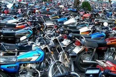 افزایش تصادفات موتورسیکلتی ، سرنوشت موتورهای توقیفی بدون صاحب