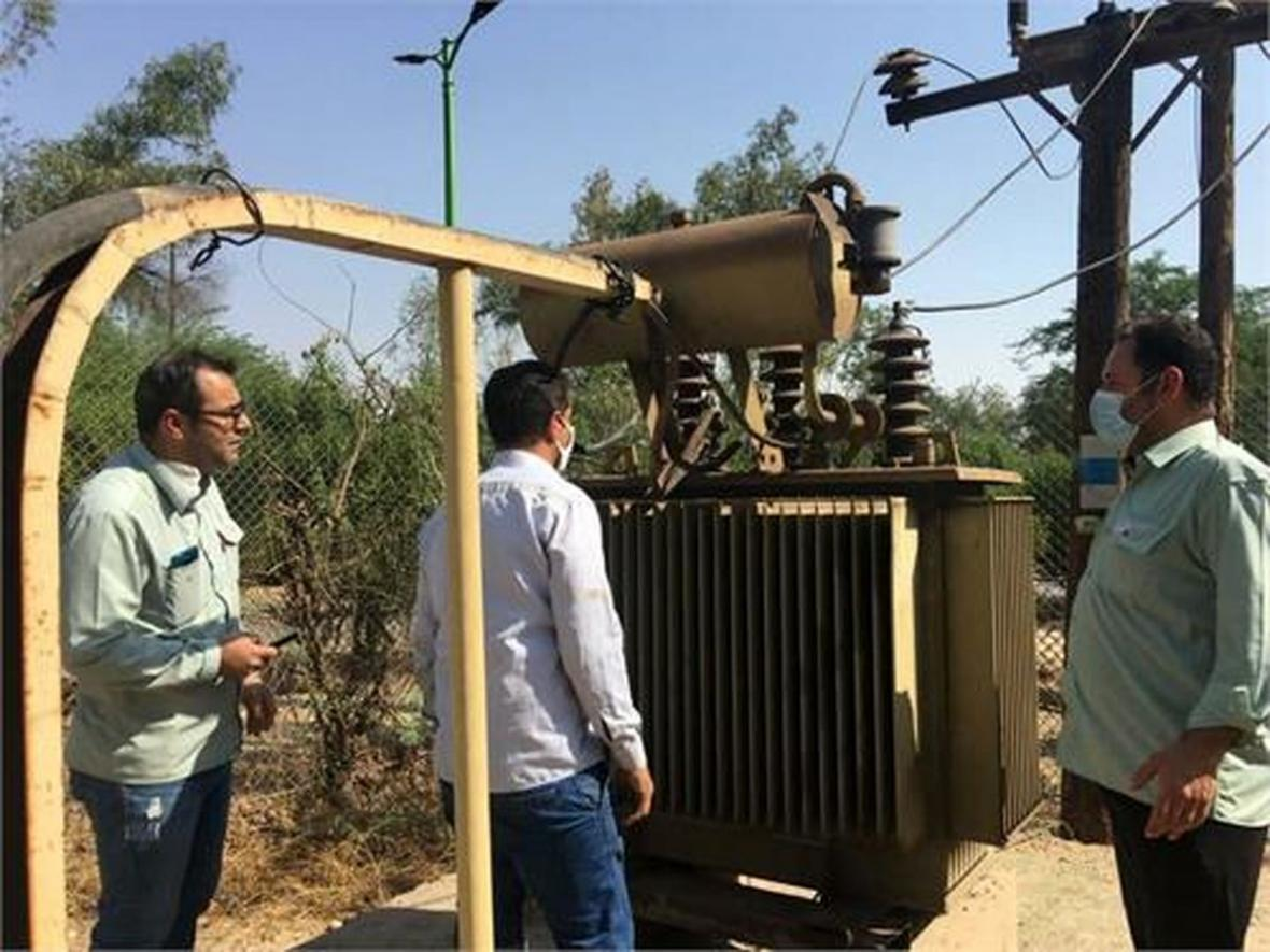 تعویض ترانسفورماتور برق مجموعه مسکونی دویست دستگاه