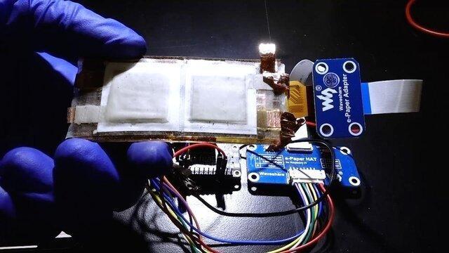 باتری منعطف و قابل چاپ ساخته شد