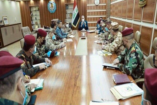 رایزنی وزیر کشور عراق با فرماندهان پلیس مرزی این کشور