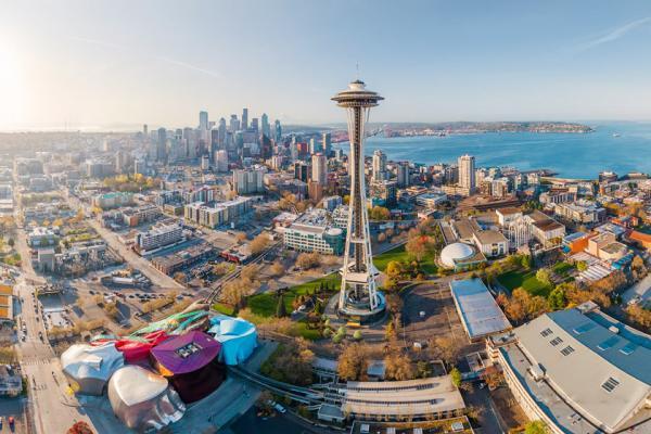 سفر به آمریکا: تور مجازی: سیاتل کجاست؟