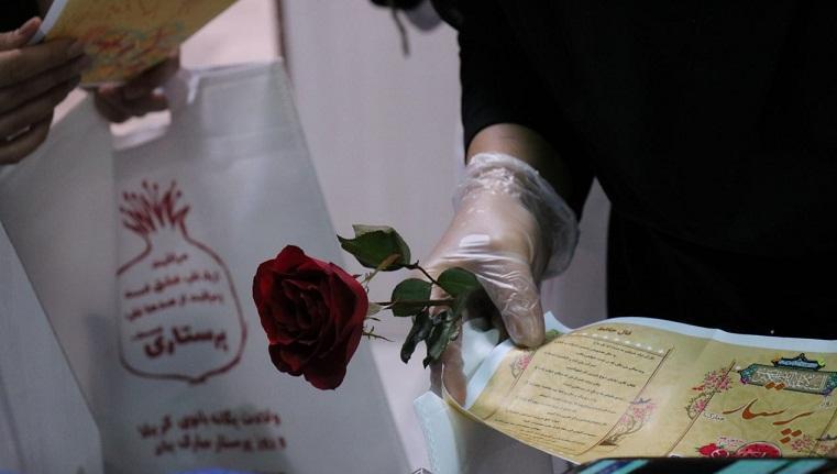 کادر درمان بیمارستان بهارلو به مناسبت شب یلدا تقدیر شدند