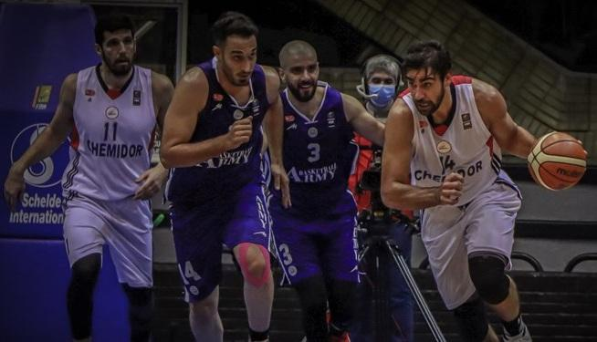 پیروزی تیم بسکتبال شیمیدر مقابل ذوب آهن، نخستین باخت کوهیان رقم خورد