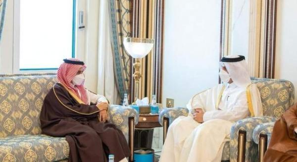 وزیران خارجه قطر و عربستان بر اهمیت کوشش عربی مشترک تاکید کردند