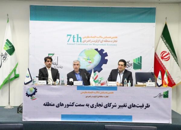 تغییر شرکای تجاری ایران به کشور های منطقه امکانپذیر است