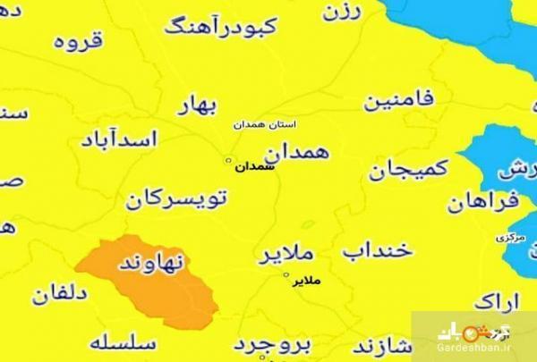 تنها شهر ممنوعه برای سفر نوروزی در استان همدان