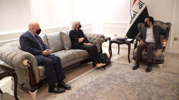 گفتگوی رئیس مجلس عراق با نماینده سازمان ملل درمورد داعش