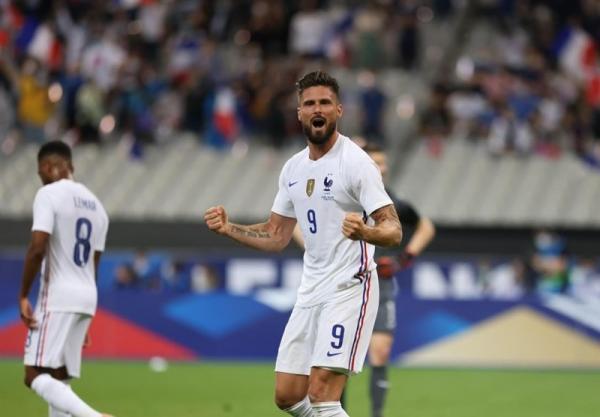 پیروزی فرانسه مقابل بلغارستان با گل های ژیرو، تساوی لهستان و ایسلند