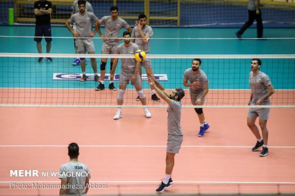 تغییر ساعت دو بازی تیم ملی ایران در لیگ ملت های والیبال