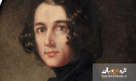 عکس، پرتره مفقوده چارلز دیکنز پس از 133 سال به خانه بازگشت
