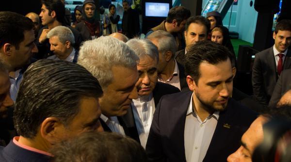 حضور خبرنگاران در یازدهمین نمایشگاه بین المللی گردشگری ایران