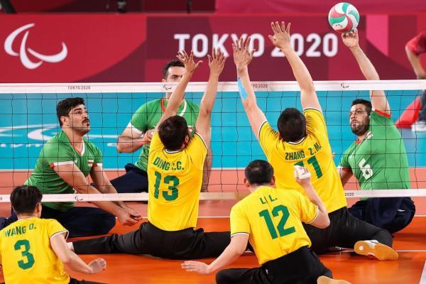 پارالمپیک توکیو؛ صعود والیبال نشسته ایران به نیمه نهایی