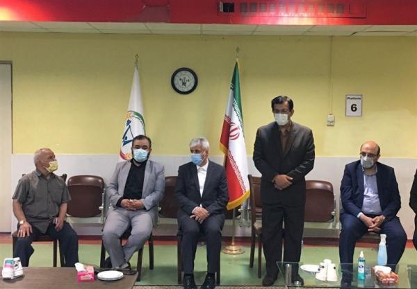 بازدید وزیر ورزش از اردوی تیم ملی وزنه برداری، مرادی: وزنه برداری ایران یک الگو در دنیا است
