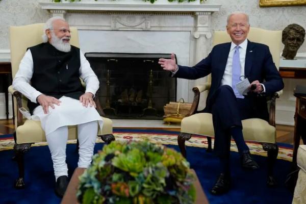 تور بمبئی: مودی سندی از خویشانودی بایدن با هند را به کاخ سفید برد