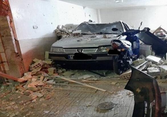 انفجار گاز LPG و سوختگی شدید 3 نفر و آسیب به 12 خانه در زنجان